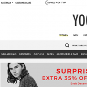 Extra 35% OFF Everything @Yoox  Deal Image