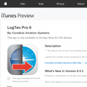 LogTen Pro 6 IOS APP for Free  (RRP $104.62) Deal Image