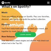 Get 3 Months of Spotify Premium for $0.99 (New Customers Only) @Spotify Deal Image