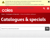 Telstra Slim Plus $49, Boost Luna $19, Telstra 4GX HD $79 @Coles Catalogue Christmas Deal Image
