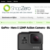 GoPro - Hero 5 12MP Action Camera - Black $474 Deal Image
