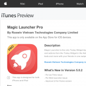 Magic Launcher Pro Free IOS APP (was $4.99) Deal Image
