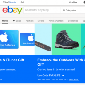 eBay - 1 Day Only: Pay $1 When you Sell Deal Image