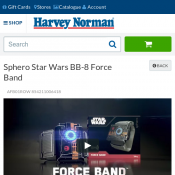 Sphero Star Wars BB-8 Force Band $78 50% OFF Deal Image