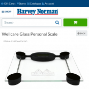 Wellcare Glass Personal Scale $9 50% OFF Deal Image