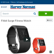 Fitbit Surge Fitness Watch $197 @ Harvey Norman Deal Image