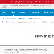 Dell - Inspiron 15 $1139 (RRP $1899)