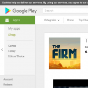 Google Play - Free Android App 'The Firm' (was $1.99)