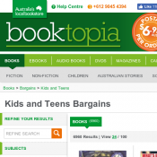 Kids and Teens Bargains Starting from $2.95 @Booktopia Deal Image