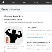Fitness Point Pro Free From Itunes (RRP $2.99) Deal Image