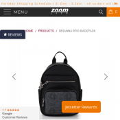 Brianna RFID Backpack  Deal Image