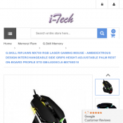 G.SKILL RIPJAWS MX780 RGB LASER GAMING MOUSE   Deal Image