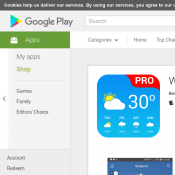 FREE Android App 'Weather App Pro' @Google Play (RRP $3.99) Deal Image