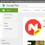 FREE Android App 'N Launcher Pro - Nougat 7.0' @Google Play (RRP $4.93) Deal Image