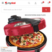1200W Electric Pizza Maker with Non-Stick Base for $49 Deal Image
