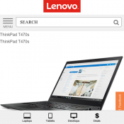 ThinkPad T470s Lenovo $1799 (RRP $2599) Deal Image