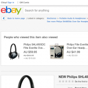 Philips Over Ear Headphones with Mic - Silver/Grey AU $39 (RRP $69.95) @The Good Guys Deal Image