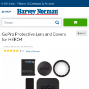 GoPro Protective Lens and Covers for HERO4 for $10 supercheap offer Deal Image