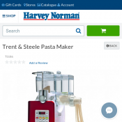 Trent & Steele Pasta Maker for $97 clearance sale Deal Image