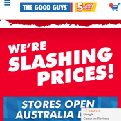 Catalogue offers from The Good Guys - Blender $89.10,  Deal Image