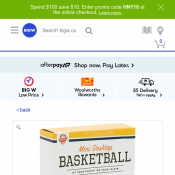 Ms Fix-It Sideshow Alley Mini Desktop Basketball for $3.50 Deal Image