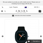 Kaj Watch by Alessi $110 @ Amara Deal Image