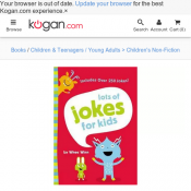 Lots of Jokes for Kids by Zondervan $5.70 Deal Image