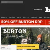 "Rushfaster - 50% Off Burton - Burton Tinder 15"" Laptop Backpack $49.98 (Was $99.95) Deal Image"