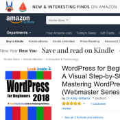 FREE eBook 'WordPress for Beginners 2018: A Visual Step-by-Step Guide to Mastering WordPress  Deal Image