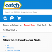 Skechers Footwear Sale up to 50% Starting from $59.99 @Catch Deal Image
