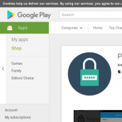 FREE Android App 'Password Saver' @Google Play Deal Image
