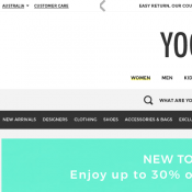 Up to 30% OFF Summer Styles @Yoox