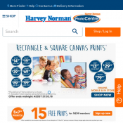 Harvey Norman 50% OFF photo mugs, stubby coolers and more  Deal Image