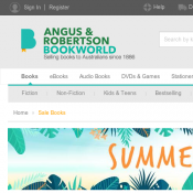 Summer Sale Books start from $2.95 + Free shipping @Angus Robertson Deal Image