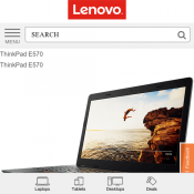 Lenovo - ThinkPad E570 Laptop $829 (RRP $1299)  Deal Image