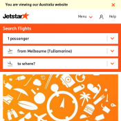 Friday Fare Frenzy From $119 8 Hours Only @Jetstar Deal Image