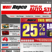 Weekend Deals: 25% Off Batteries / 40% Off Castrol / 50% Off Globes & Wipers @Repco Deal Image