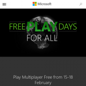 Xbox A.U - Free Play Days - 3 Days Only Deal Image