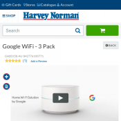 Google WiFi - 3 Pack FOR $398 Value Pack Deal Image