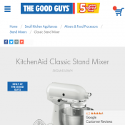 KitchenAid Classic Stand Mixer $399 (Was $699) Deal Image