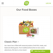 $35 Off First Food Box New Customers Only @HelloFresh Deal Image