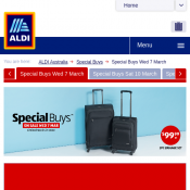 Aldi - Special Buys 7 March Deal Image