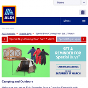 Camping Essentials On Sale Saturday 17 March  Deal Image