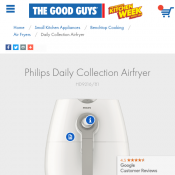 Philips Daily Collection Airfryer $149 (RRP $199) @The Good Guys Deal Image