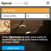 Domestic Flights from $19.95 @Tiger Airways Deal Image