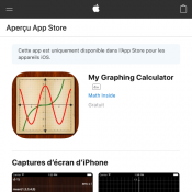 My Graphing Calculator - Free IOS App (was $2.99) Deal Image