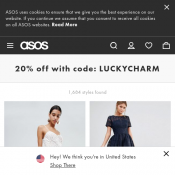 St. Patricks Day Sale: 20% Off Full Priced Items @Asos Deal Image