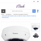 Geovision 2MP Super Low Lux IP Dome Camera $30 Deal Image