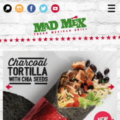 Mad Mex - Kombucha for just $2 with any Main Meal Purchase Deal Image
