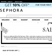 Extra 20% Off Sale Items @Sephora Deal Image